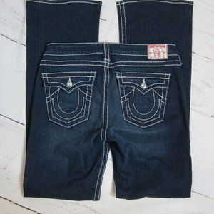 True Religion Disco Becky Boot Cut Jeans Size 32